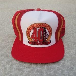 1986 San Fransisco 49ers Snapback Hat